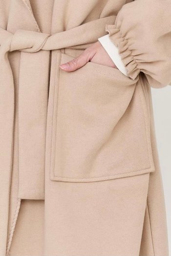 Cotton Candy - Saila Coat  Beige