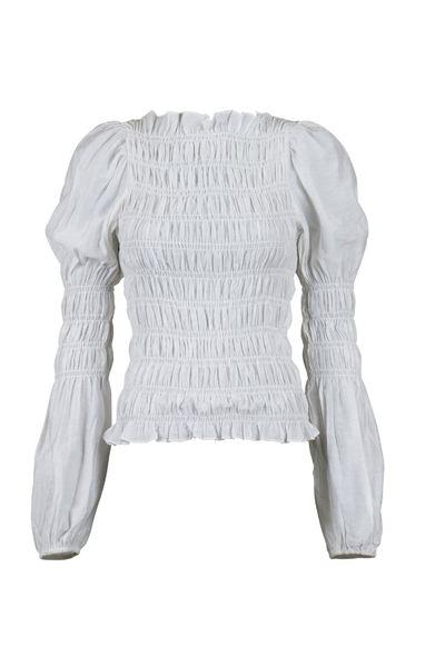 Polka Smock Shirt