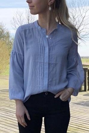 Fatima Slim Stripe Shirt