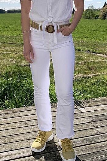 Stajl - Jeans Fransar White