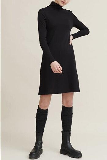 Basicapparel - Arina Dress Khaki  & Black