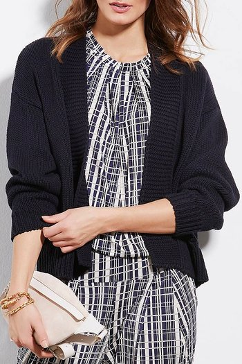 In Front  - Masha knit Cardigan Marin