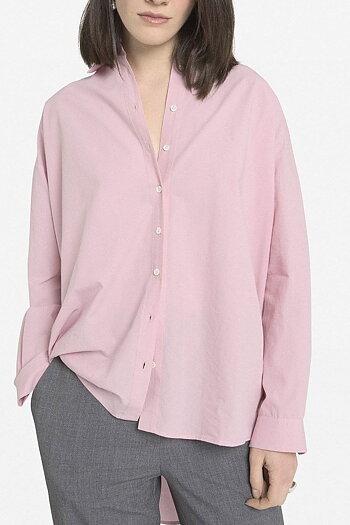 OttodÁme - Flared Shirt Rosa