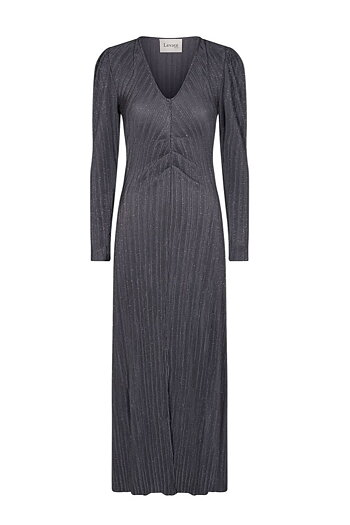 Levéte Room  - Livana Dress Silver Grey