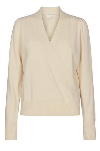Levéte Room - Funda 24 Knitted Blouse  Off White