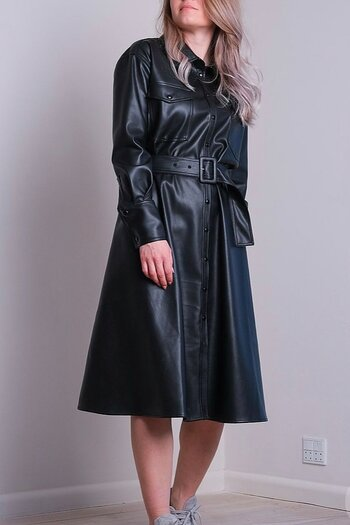 Neo Noir - Cirkel Faux Dress Black