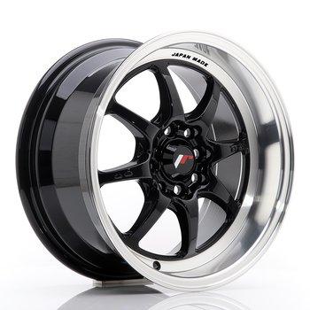 JR Wheels TF2 15x7,5 ET30 4x100/114 Gloss Black
