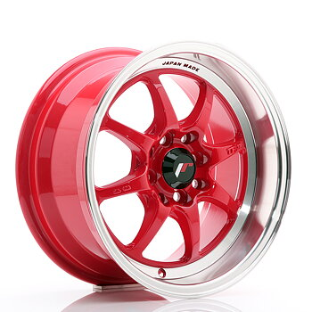 JR Wheels TF2 15x7,5 ET30 4x100/114 Red