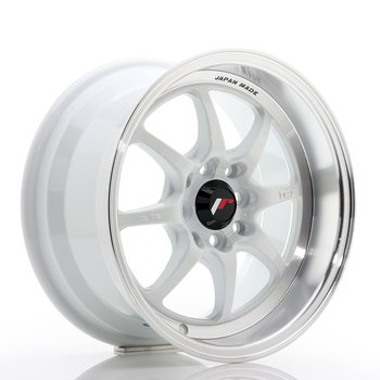 JR Wheels TF2 15x7,5 ET30 4x100/114 White