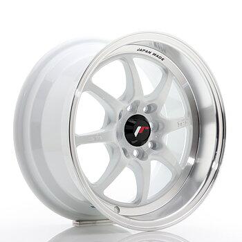 JR Wheels TF2 15x7,5 ET30 4x100/114 White