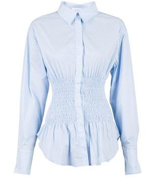 Neo Noir Salan Poplin  Shirt, Light Blue