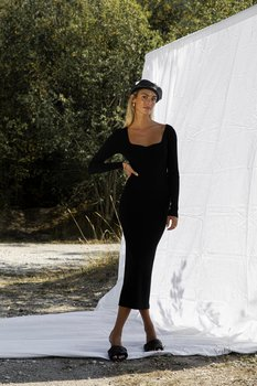 ADOORE Roma Dress,  Black