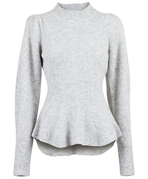 Neo Noir Nola Knit, Light Grey