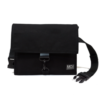 ALEX  BLACK – cross body diaper bag