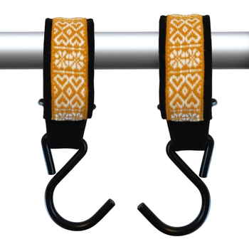 STROLLER HOOKS – yellow folklore