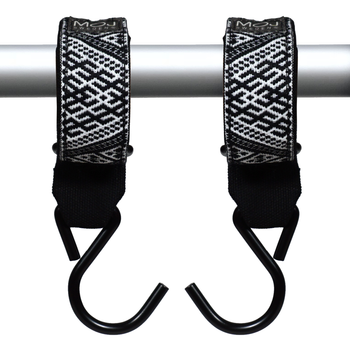 STROLLER HOOKS – black and white folklore