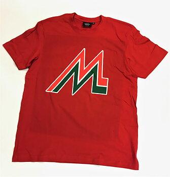 T-Shirt Retro Röd