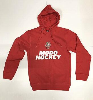 Hoodtröja Modo Hockey Röd Jr