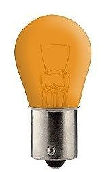 LAMPA 12V 21W BAU15S ORANGE
