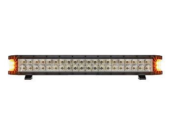 "Strands Yeti Side Shooter 24"" LED-bar, med blixtljus, 9-32V DC, 103W, IP69K"