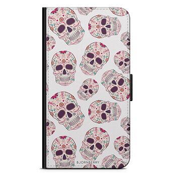 iPhone 7 Plånboksfodral - Calavera Dödskallar