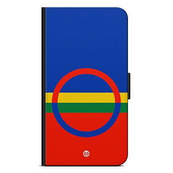 iPhone 7 Plånboksfodral - Samiska flaggan