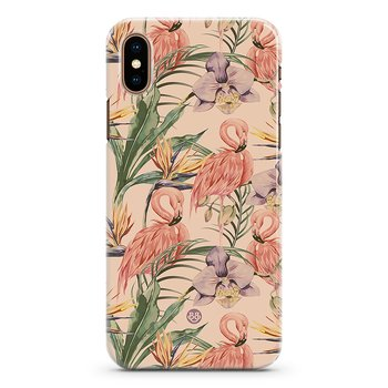 iPhone X / XS Premium Skal - Flamingos