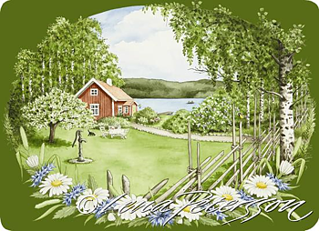 Bordstablett Sommar, sommar