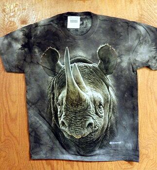 Afrikans Svart Noshörning T-shirt