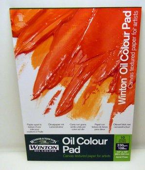 Oljemålningsblock Winton 35 x 25 cm, 10 Ark 230 gram
