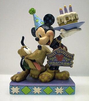 Disney Musse Pigg & Pluto Födelsedag med tårta