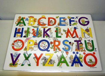 Bordstabletter ABC