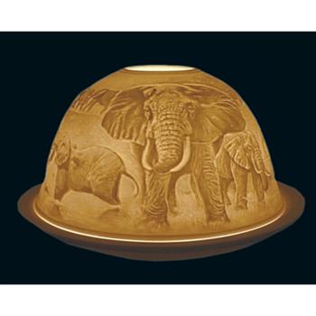 Ljuslykta Starlight Elefanter