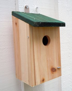 Fågelholk Natur Furu
