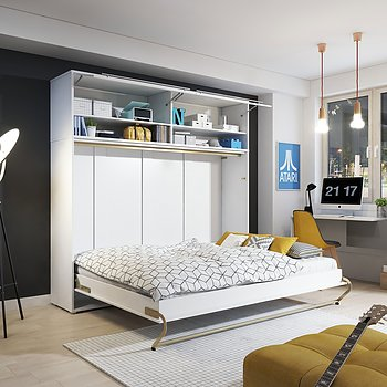 CONCEPT PRO HORIZONTAL murphy bed 140x200