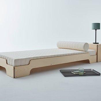 STACKING BED MAPLE stabelbar seng