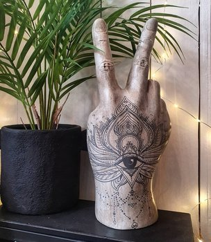 Dekoration - Victory Tattoo Hand