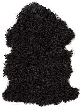Fårskinn -  Curly Svart