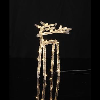 Dekoration Ledljus - Ren 20cm