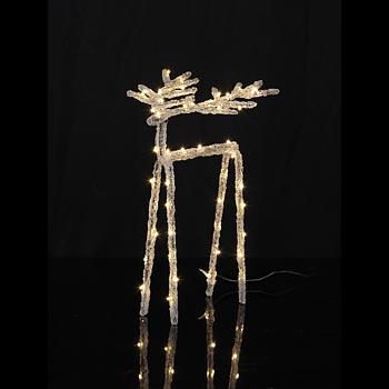 Dekoration Ledljus - Ren 30cm