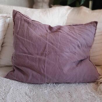 Kuddfodral Linne - Purple