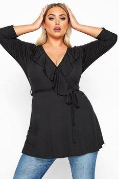 Tunika med smickrande ringning, svart