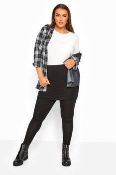 2-1 kjol och leggings, svart