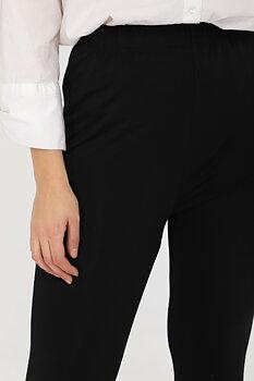 Leggings med fina detaljer, svart
