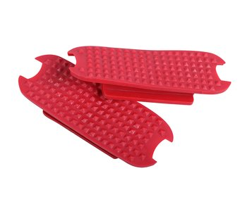 Stigbygel säkerhet med gummiband och ilägg