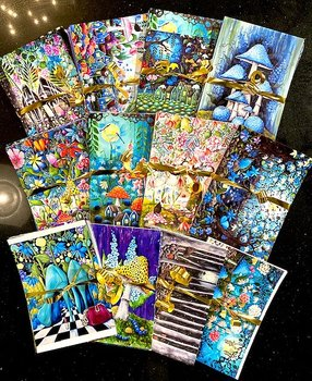 Postcards bundle of 18