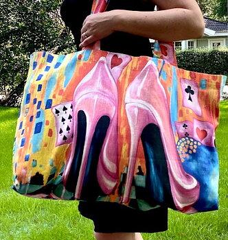 Handmade beachbag!