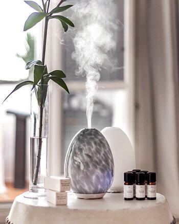 Aroma diffuser Ägg Grå Sthlm Fragrance Supplier