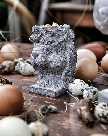 Ljushållare Floral Bunny Påsk