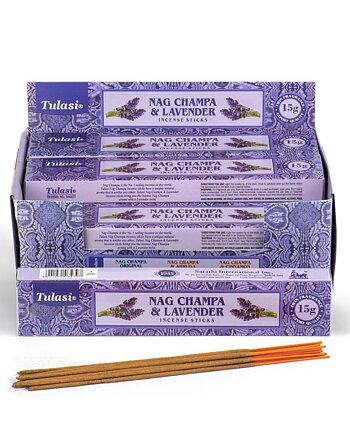 Rökelsestickor Tulasi Lavender Nag Champa